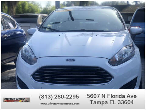 2016 Ford Fiesta for sale at Drive Now Motors USA in Tampa FL