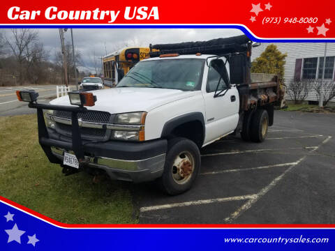 2004 Chevrolet Silverado 3500 for sale at Car Country USA in Augusta NJ