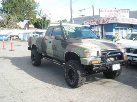 1994 Toyota Pickup for sale at AUTO WHOLESALE OUTLET in North Hollywood CA