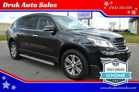 2015 Chevrolet Traverse for sale at Druk Auto Sales in Ramsey MN