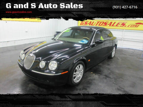 2005 Jaguar S-Type for sale at G and S Auto Sales in Ardmore TN