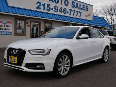 2014 Audi A4 for sale at B & D Auto Sales Inc. in Fairless Hills PA