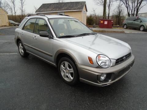 2002 Subaru Impreza for sale at Top Gear Motors in Winchester VA