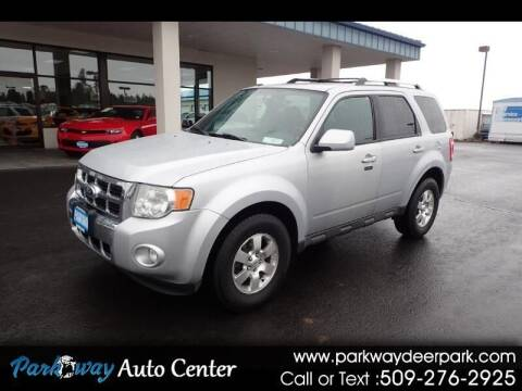 2012 Ford Escape for sale at PARKWAY AUTO CENTER AND RV in Deer Park WA