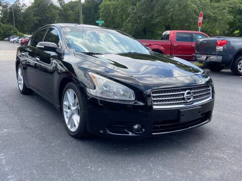 2010 Nissan Maxima for sale at Luxury Auto Innovations in Flowery Branch GA