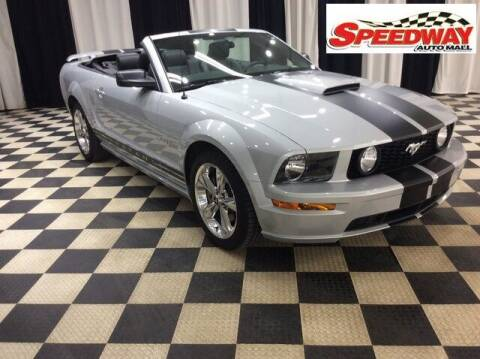 2007 Ford Mustang for sale at SPEEDWAY AUTO MALL INC in Machesney Park IL