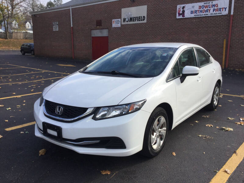 2014 Honda Civic for sale at White River Auto Sales in New Rochelle NY