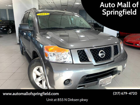 2015 Nissan Armada for sale at Auto Mall of Springfield in Springfield IL