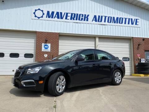 2015 Chevrolet Cruze for sale at Maverick Automotive in Arlington MN