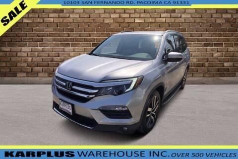 2017 Honda Pilot for sale at Karplus Warehouse in Pacoima CA