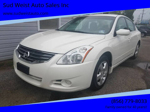 2012 Nissan Altima for sale at Sud Weist Auto Sales Inc in Maple Shade NJ
