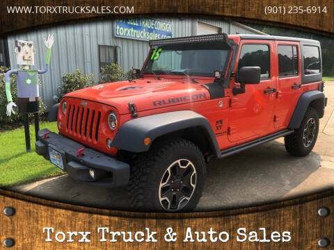 2015 Jeep Wrangler Unlimited for sale at Torx Truck & Auto Sales in Eads TN