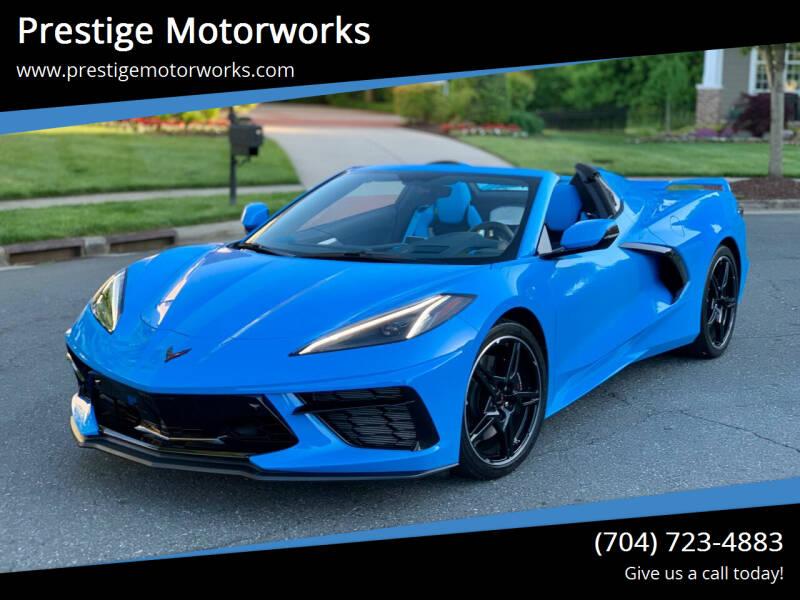 2021 Chevrolet Corvette for sale at Prestige Motorworks in Concord NC