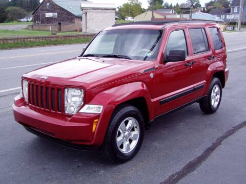 2010 Jeep Liberty for sale at The Autobahn Auto Sales & Service Inc. in Johnstown PA