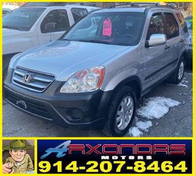2005 Honda CR-V for sale at ARXONDAS MOTORS in Yonkers NY