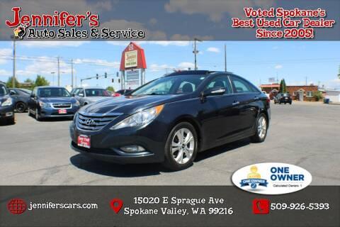 2012 Hyundai Sonata for sale at Jennifer's Auto Sales in Spokane Valley WA