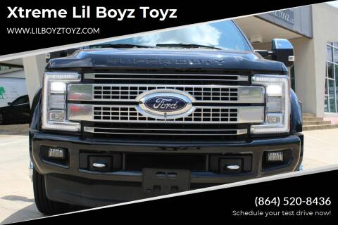 2017 Ford F-450 Super Duty for sale at Xtreme Lil Boyz Toyz in Greenville SC