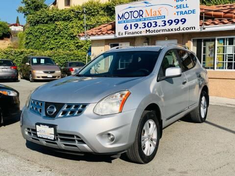 2012 Nissan Rogue for sale at MotorMax in Lemon Grove CA
