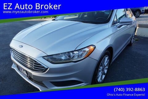2017 Ford Fusion for sale at EZ Auto Broker in Mount Vernon OH