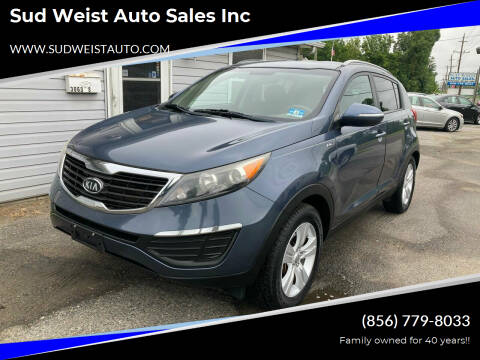 2011 Kia Sportage for sale at Sud Weist Auto Sales Inc in Maple Shade NJ