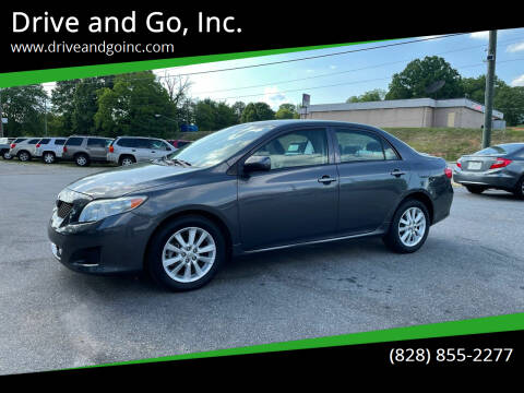 2009 Toyota Corolla for sale at Drive and Go, Inc. in Hickory NC