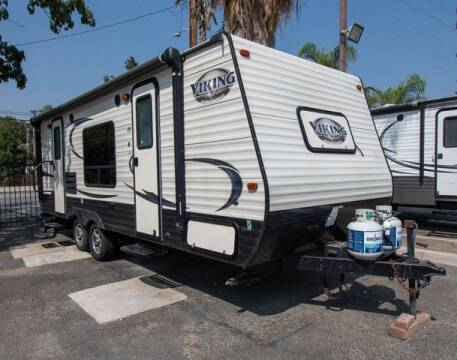 2017 Forest River Viking 21FQ for sale at GQC AUTO SALES in San Bernardino CA