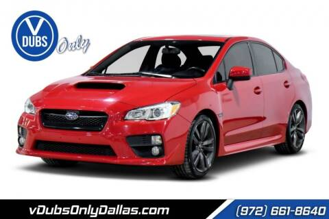 2016 Subaru WRX for sale at VDUBS ONLY in Dallas TX