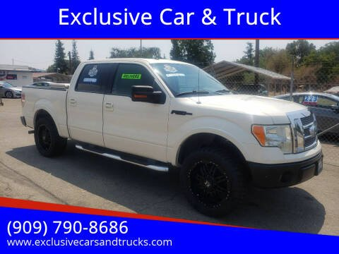 2009 Ford F-150 for sale at Exclusive Car & Truck in Yucaipa CA