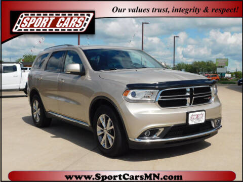 2015 Dodge Durango for sale at SPORT CARS in Norwood MN