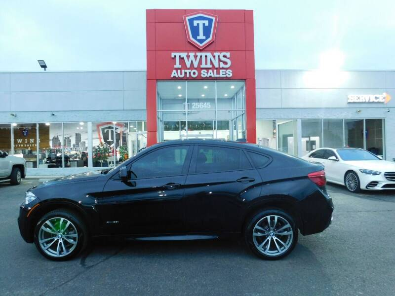 2018 BMW X6 for sale at Twins Auto Sales Inc Redford 1 in Redford MI