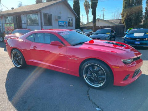 2014 Chevrolet Camaro for sale at Blue Diamond Auto Sales in Ceres CA