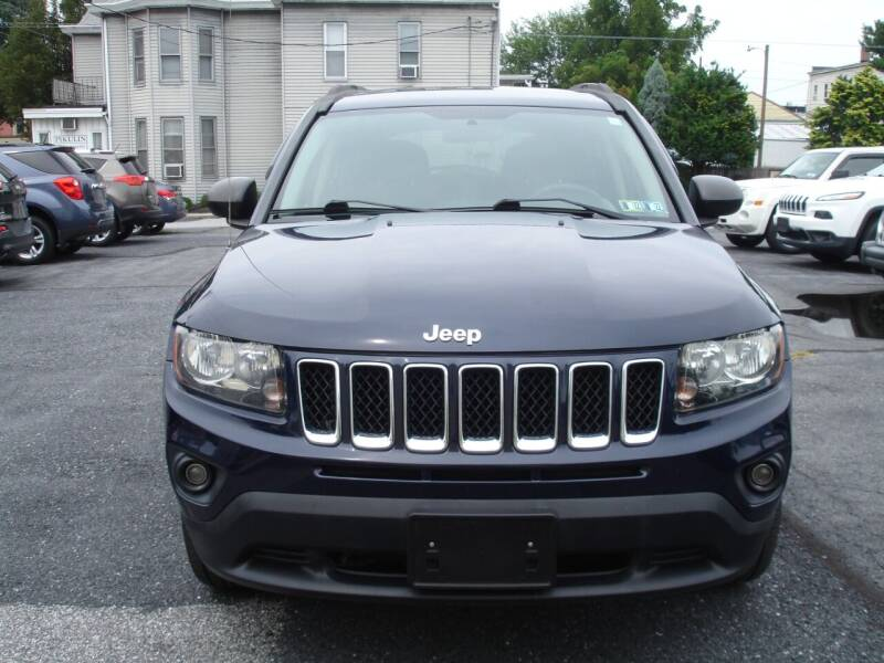 2014 Jeep Compass for sale at Pete's Bridge Street Motors in New Cumberland PA