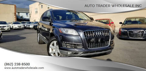 2014 Audi Q7 for sale at Auto Trader Wholesale Inc in Saddle Brook NJ