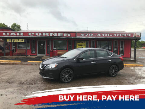 2016 Nissan Sentra for sale at CAR CORNER in Van Buren AR