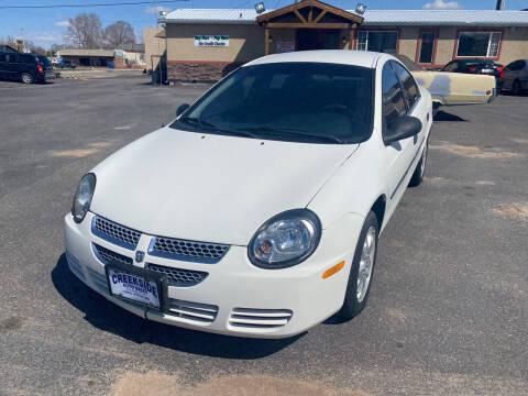 2003 Dodge Neon for sale at Creekside Auto Sales in Pocatello ID