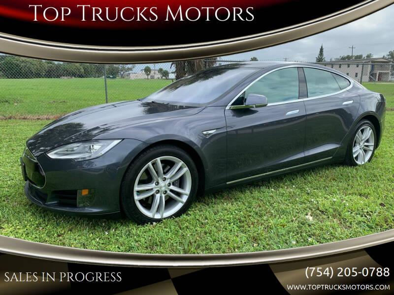 2016 Tesla Model S for sale at Top Trucks Motors in Pompano Beach FL