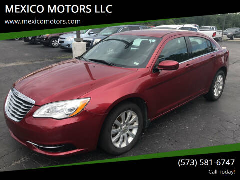 2013 Chrysler 200 for sale at MEXICO MOTORS LLC in Mexico MO