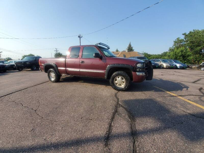 2003 GMC Sierra 1500 for sale at Geareys Auto Sales of Sioux Falls, LLC in Sioux Falls SD