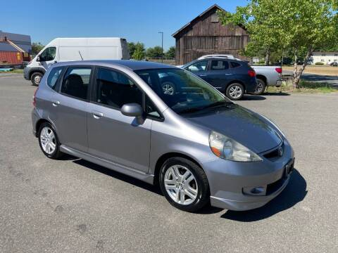 2008 Honda Fit for sale at ENFIELD STREET AUTO SALES in Enfield CT