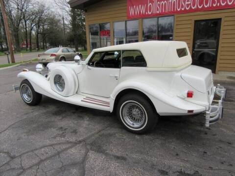 1981 Excalibur Phaeton for sale at Bill Smith Used Cars in Muskegon MI