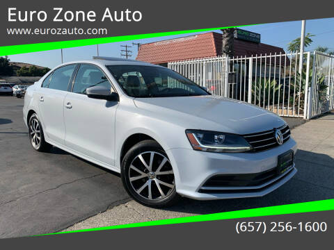 2017 Volkswagen Jetta for sale at Euro Zone Auto in Stanton CA