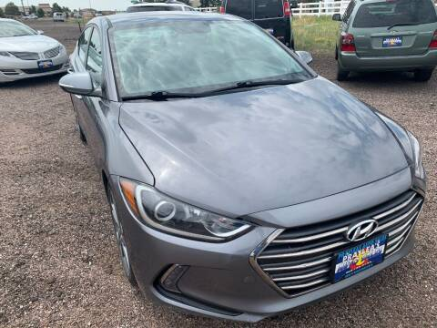 2017 Hyundai Elantra for sale at Praylea's Auto Sales in Peyton CO