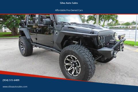 2015 Jeep Wrangler Unlimited for sale at Silva Auto Sales in Pompano Beach FL