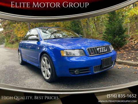 2005 Audi S4 for sale at Elite Motor Group in Farmingdale NY
