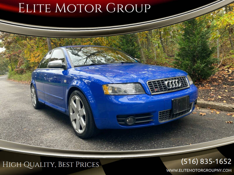 2005 Audi S4 for sale at Elite Motor Group in Farmingdale NY