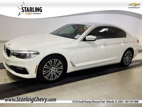 2018 BMW 5 Series for sale at Pedro @ Starling Chevrolet in Orlando FL