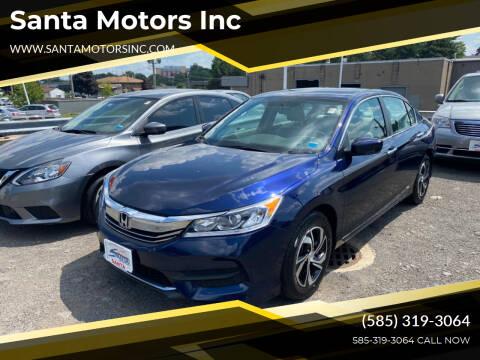 2017 Honda Accord for sale at Santa Motors Inc in Rochester NY