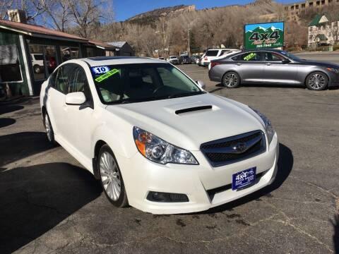 2010 Subaru Legacy for sale at 4X4 Auto in Cortez CO