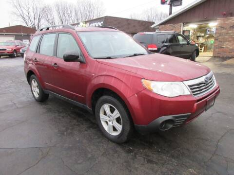 2010 Subaru Forester for sale at Fox River Motors in Green Bay WI