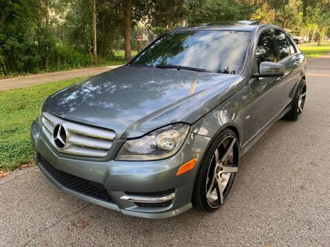 2012 Mercedes-Benz C-Class for sale at P J Auto Trading Inc in Orlando FL